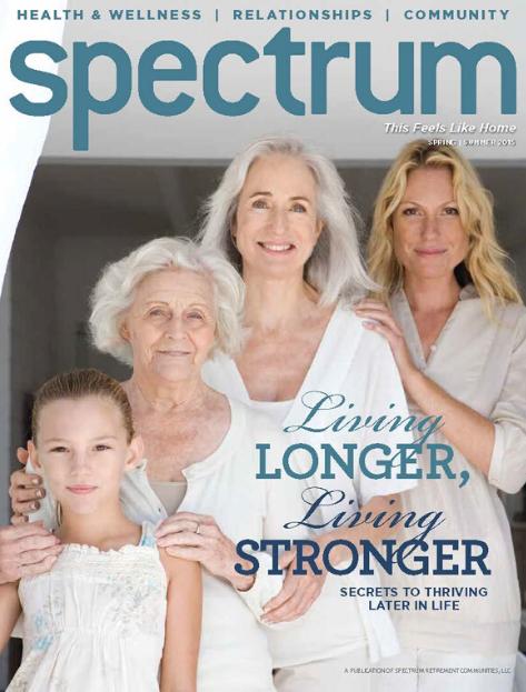 Spectrum Magazine Spring-Summer 2015